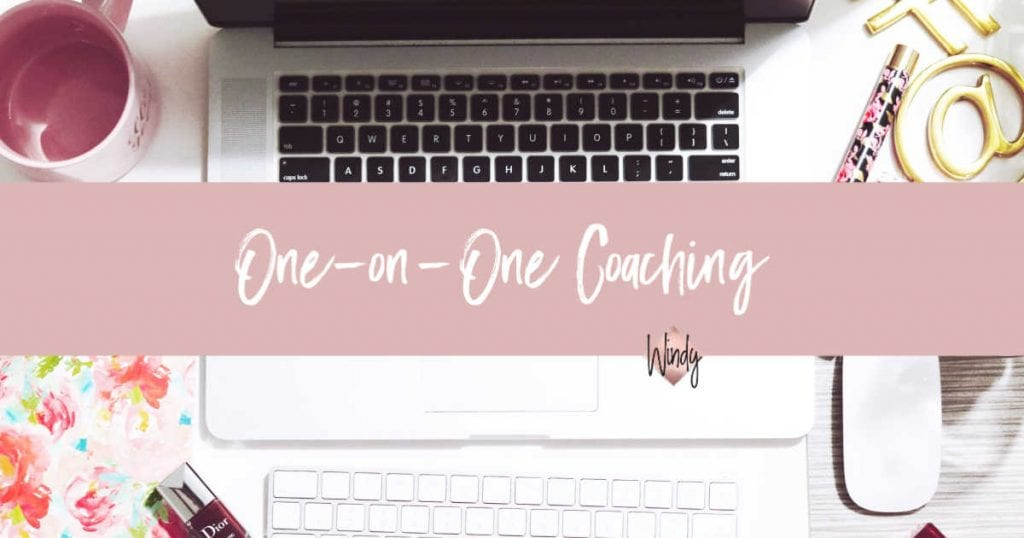 One on one business coaching Windy Lawson