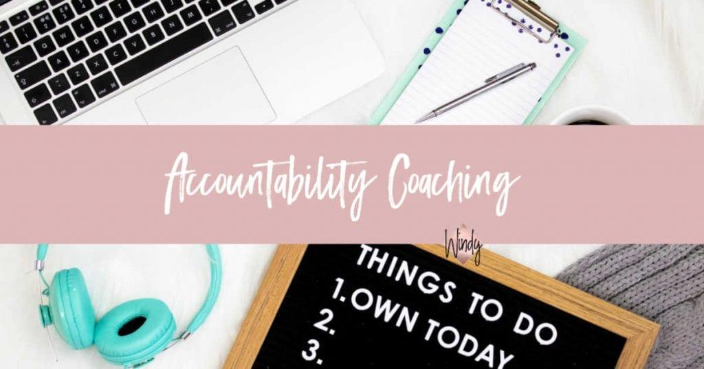 Accountability Coaching Windy Lawson