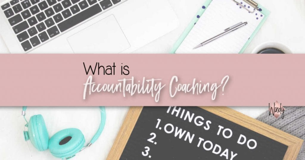 What is accountability coaching