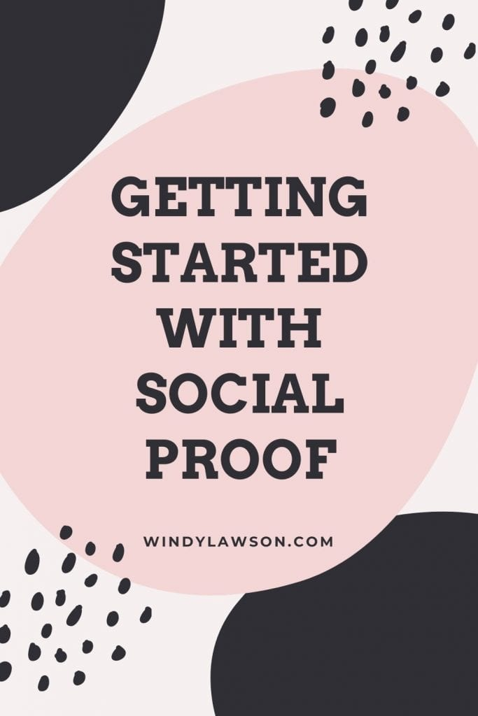 Getting started with Social Proof