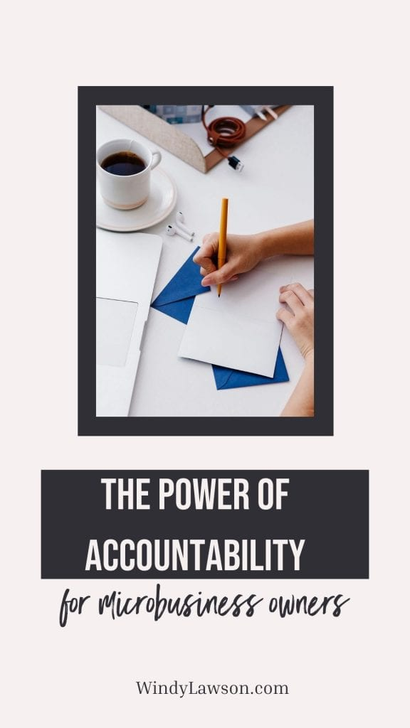 The power of accountability for microbusiness owners