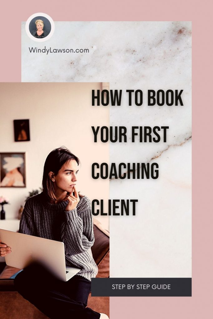 How to book your first coaching client