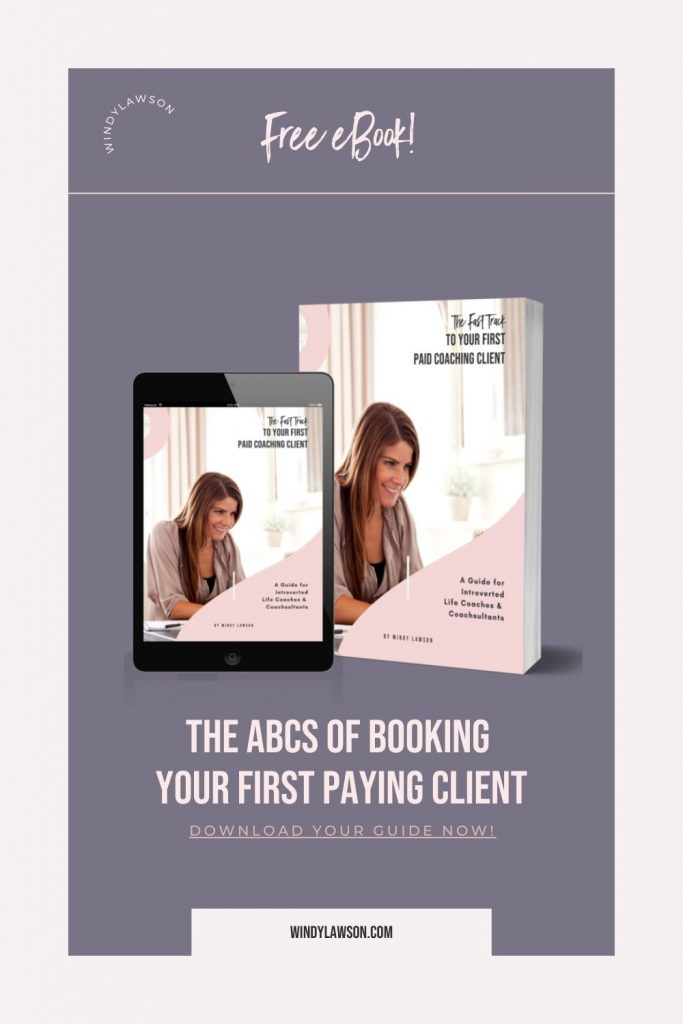 The ABCs of booking your first paying client
