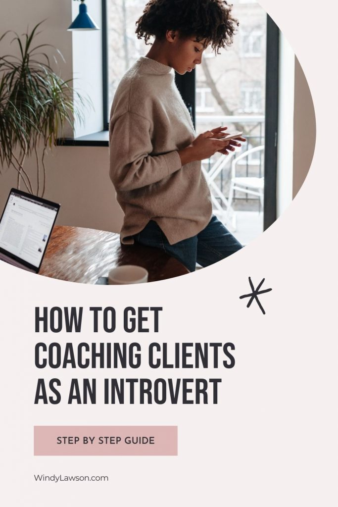 How to get coaching clients as an introvert